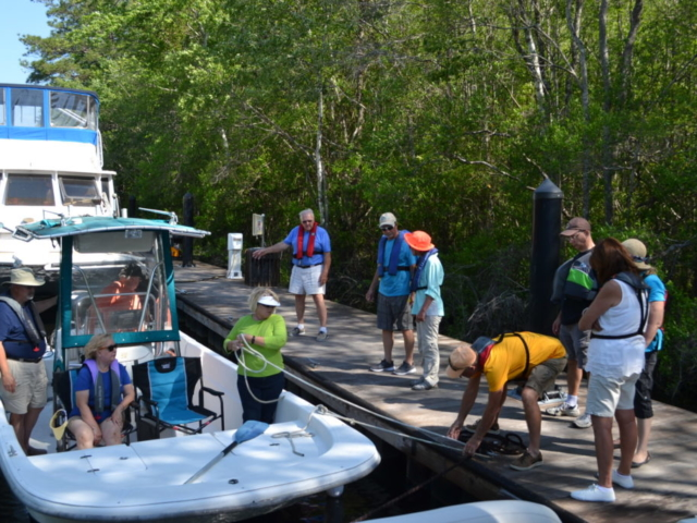 Boater Education On The Water
